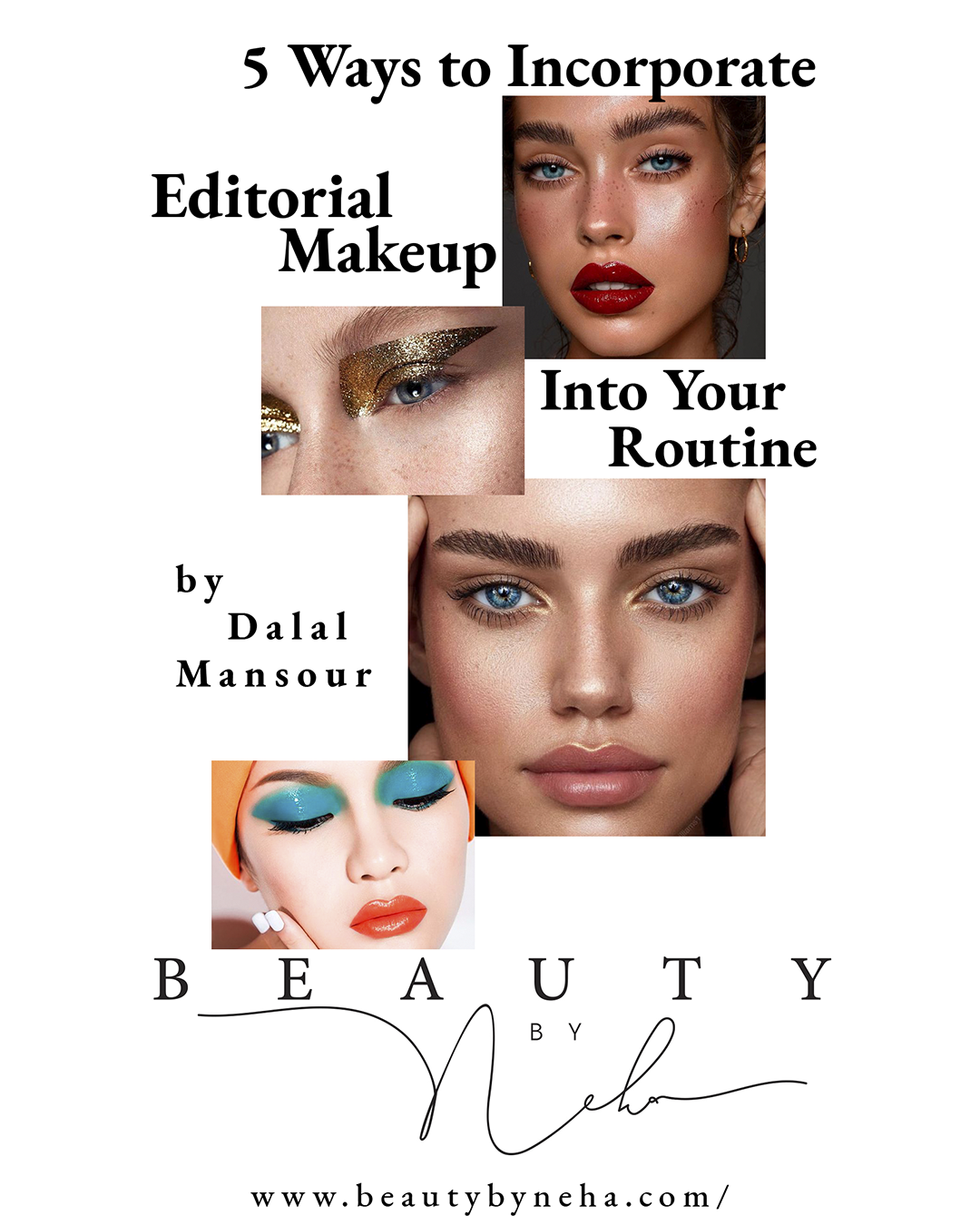 5 Ways To Incorporate Editorial Makeup